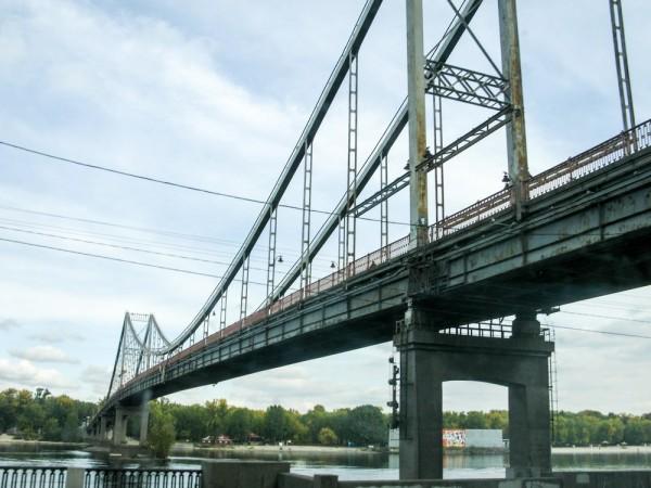 Парковый пешеходный мост